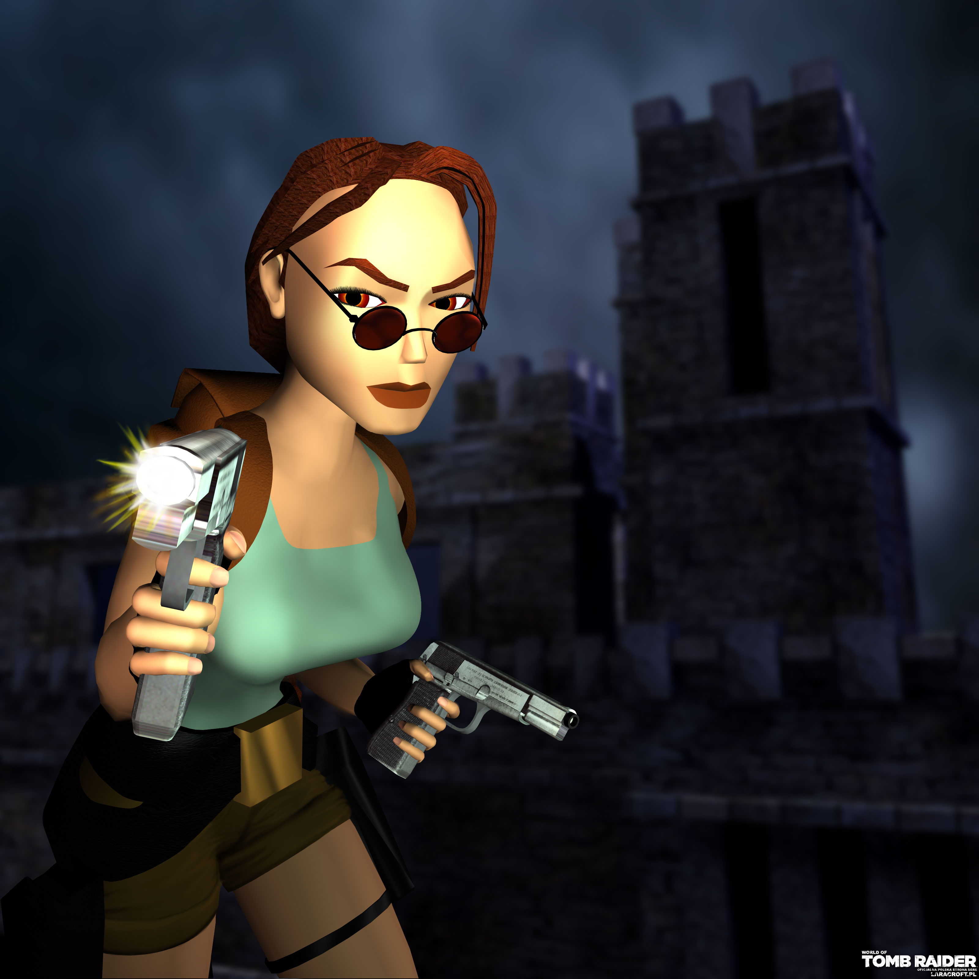 Lara croft old game fucks cutie